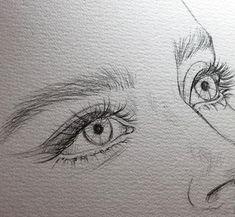 portrait drawing pencil Bleistiftzeichnung Bild entdeckt von H E A R T B E A T . Pencil Drawing Pictures, Pencil Art Drawings, Cool Art Drawings, Realistic Drawings, Art Drawings Sketches, Pictures To Draw, Drawing Art, Drawing Ideas, Drawing Girls
