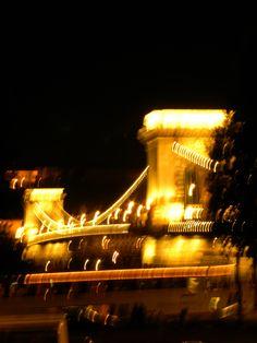 Budapest in blur