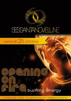 Opening on Fire - 25 ottobre 2013