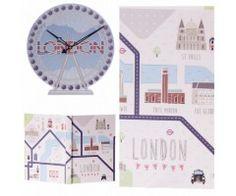 Set ceas si agenda Londra - Moniz gift ideas decoratiuni si cadouri