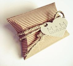 wedding favor pillow box - Bing Images