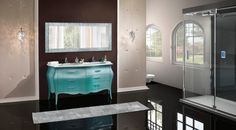Barokk fürdőszobabútor - www.montegrappamoblili.hu Double Vanity, Elegant, Bathroom, Design, Sanitary Napkin, Classy, Washroom, Chic, Bathrooms