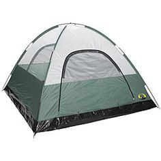 @Overstock - Go camping in the great outdoors with this spacious three-season tent. With its sealed waterproof rain fly, bathtub floor design, and mesh ventilation panels, this tent is well crafted. The tent also boasts sturdy shock-corded poles.http://www.overstock.com/Sports-Toys/Stansport-Rainier-3-season-Tent/5336925/product.html?CID=214117 $82.52