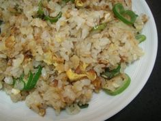Electric Skillet Recipe ~ Fried Rice ♥