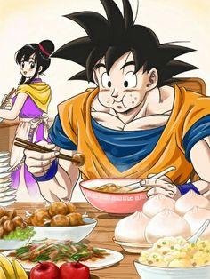 Goku and chichi Dragon Ball Gt, Otaku, Dope Cartoons, Son Goku, Animes Wallpapers, Cute Art, Doujinshi, Anime Art, Manga Art