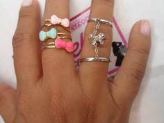 Lazitos, anillos <3 <3, visita la tienda, aceptamos tarjetas bancarias!