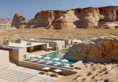 10 Of The World's Most Remote & Mind-Blowing Hotels - #AmangiriResortAndSpa, #DarAzawadDesertCamp, #FogoIslandInn, #HotelBudir, #JalmanMeadowsWildernessCamp, #MountainLodgesOfPeru, #PetitStVincent, #PosadaDeMikeRapu, #WinterlakeLodge, #Wolwedans