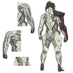 Samuel Arm Design, Metal Gear Rising: Revengeance