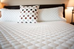We have so many bedding choices to match our clients needs.