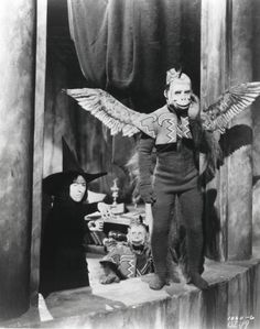 "The Flying Monkeys in ""The Wizard of Oz"" (1939). Terrifying."