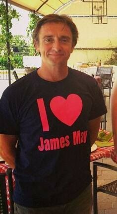 Richard Hammond may have lost a bet...but I still want this shirt!