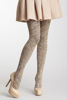 Sexy stockings high heels tease