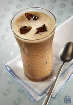 Serve this calcium-rich Vanilla Mochaccino hot or cold at the end of a holiday soiree!