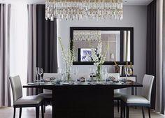 Gray Dining Room   http://moderndiningtables.net/ #luxuryfurniture #luxurydesign #bespoke #furnituredesign #diningtable #luxuryfurniture #diningroom #interiordesign #moderndiningtable #diningtableideas#gray #graydiningroom