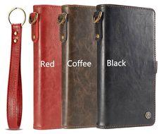 CaseMe iPhone 7 Plus Wallet Detachable Wrist Strap Case