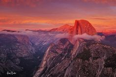reminiscence   Flickr - Photo Sharing! Sunset from Glacier Point