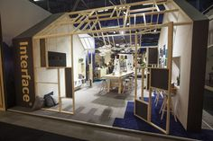 Interface booth at #2015Sff #interfacecarpets
