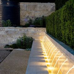 Beautiful way of using garden lighting by Thomas Hoblyn Landscape and Garden Design - House & Garden, The List