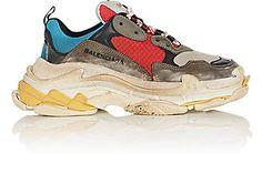 Balenciaga Women's Triple S Sneakers - Sneakers - 505274594 BLEUGRIS_1_ShoeSide (402×269)