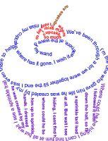 Concrete Poem - 9s