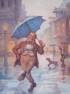 Singing in the rain (Ének az esőben) - artist: Szász Endre László