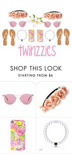 """""""twinzzies"""" by gyambrek on Polyvore featuring Oliver Peoples, Forever 21, Lilly Pulitzer and Aéropostale"""