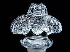 New Gran Patron Burdeos Tequila Crystal Bee Shape Decorative Decanter Stopper