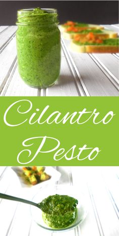 Looking for an alternative to the usual pesto recipes?  This Cilantro Pesto with Garlic is a great sauce. Eat with pasta or potatoes. It is cheaper, healthier and much more delicious than Basil Pesto.