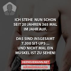 7300 Sit-Ups #derneuemann #humor #lustig #spaß