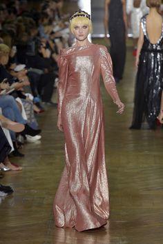 Couture Fall 2016 Trend: Metallics | Ulyana Sergeenko Couture Fall 2016 [Photo: Giovanni Giannoni]