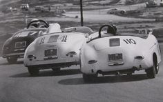 Porsche 356 Speedsters -- SCCA racing in the 1960s