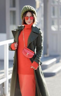 How to wear Military Coat and look Chic and Feminine! Colourful Outfits, Colorful Fashion, How To Wear Blazers, Estilo Cool, Winter Chic, Look Chic, Fashion Outfits, Womens Fashion, Casual Looks