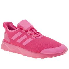 Adidas Pink Zx Flux Adv Verve Womens Trainers The adidas ZX Flux family continues to evolve, as the contemporary ADV Verve arrives in neon pink. The fabric upper features minimalistic 3-Stripe branding, with a TPU welded heel cage for a nod to th http://www.MightGet.com/january-2017-13/adidas-pink-zx-flux-adv-verve-womens-trainers.asp