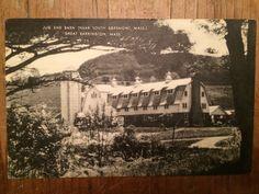 Vintage Great Barrington MA Jug End Barn Berkshires RPPC Artvue Postcard