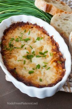 This is the perfect appetizer for tailgating or the big game! Wow your guests with this Hot Onion Dip!