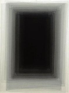 phytos:    Joachim Bandau - Aquarelle, black watercolor on paper