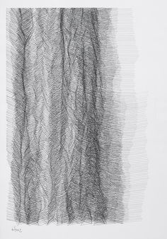 BILL HINZ, UNTITLED 3 1980s: pen and ink.