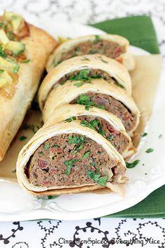 Mini Tex-Mex Meatloaf Burritos Tex-Mex Mini Meatloaf Burrito – Cinnamon Spice & Everything Nice