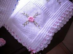 Çiçekli Bebek Battaniyeleri | deryali fikirleri