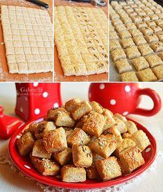 Gabriella kalandjai a konyhában :): Túrós falatkák Cereal, Food And Drink, Appetizers, Cookies, Breakfast, Vans, Culture, Foods, Christmas