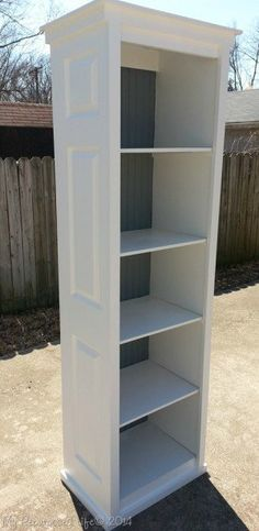 If it's bookcases you're looking for, just take your bi-fold doors and make some! Super Cute! DIY Furniture Hacks that will make you think: Why didn't I think of that?