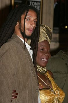 Rita and Julian Bob Marley Kids, Reggae Bob Marley, Marley Family, Damian Marley, Bob Marley Pictures, Jah Rastafari, Peter Tosh, Reggae Artists