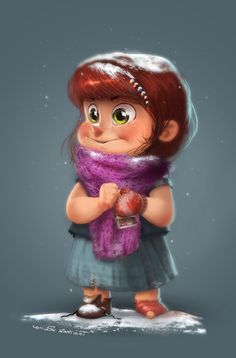 Little Match Girl by cury.deviantart.com on @deviantART