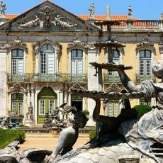Lisbon ,the Queluz National Palace is one of best Baroque examples in Portugal (although some rococo style details in its facade). Architecture Baroque, Famous Architecture, Belem, Costa, Day Trips From Lisbon, Portuguese Culture, Beautiful Places To Visit, Best Cities, Facade