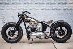 Bobber Inspiration | Bobbers & Custom Motorcycles | Triumph bobber by Choppahead Kustom Cycles