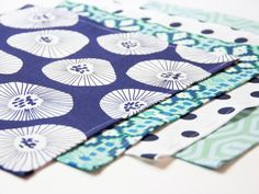 How To Sew Simple Cloth Dinner Napkins:  From DIYNetwork.com from DIYnetwork.com