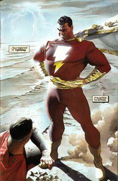 BENDIS!, Superman vs Captain Marvel by Alex Ross