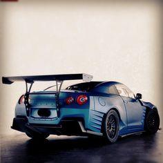 Mean Looking Nissan GT-R
