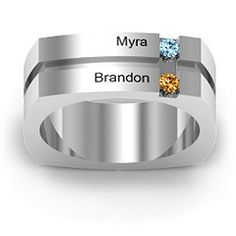 If I had kids, this would be the mothers ring I would want.