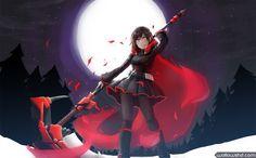 Anime RWBY Rwby Ruby Rose Red 010 Wallpaper